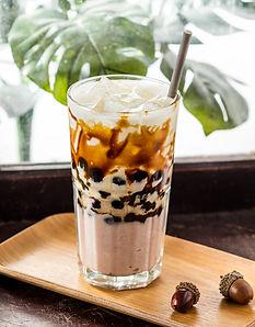 Fresh taro brown sugar pearl milk