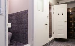 Shared bathroom hall