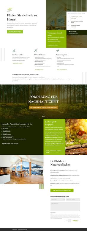 Erler Haus GmbH Landing