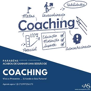 Cartão Presente • Uma Sessão de Personal Coaching