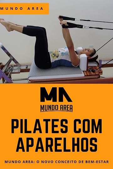 Pilates com Aparelhos na Academia Mundo Area