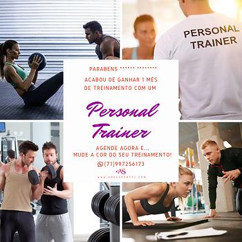 Cartão Presente • Um Mês de Personal Trainer