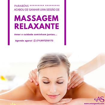 Cartão Presente • Massagem Relaxante