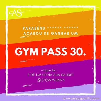 Cartão Presente • Gym Pass 30