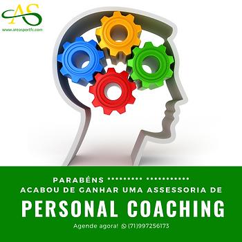 Cartão Presente • Uma Assessoria Completa de Personal Coaching