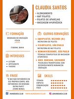 Claudia Santos Educadora Física e Terapeuta Corporal - Clique e saiba mais...