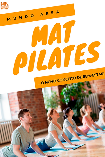 Mat Pilates na Academia Mundo Area