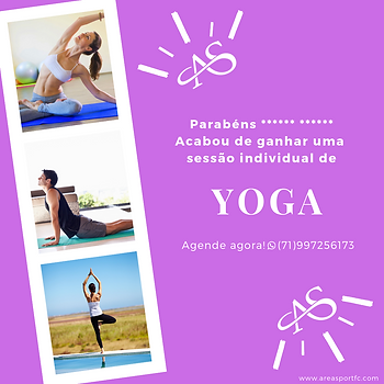 Cartão Presente • Uma Sessão de Yoga