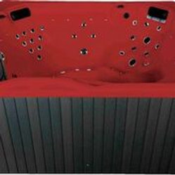Whirlpool emotion Spa für 5 rot