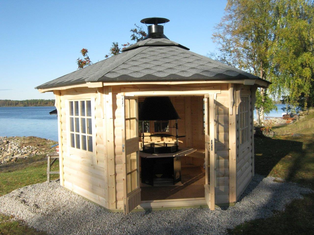 Wikinger Grill Sommerhaus 9,2 qm