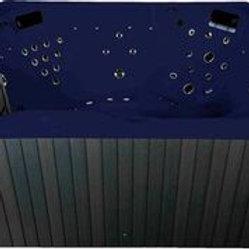 Whirlpool emotion Spa für 3 dunkel blau