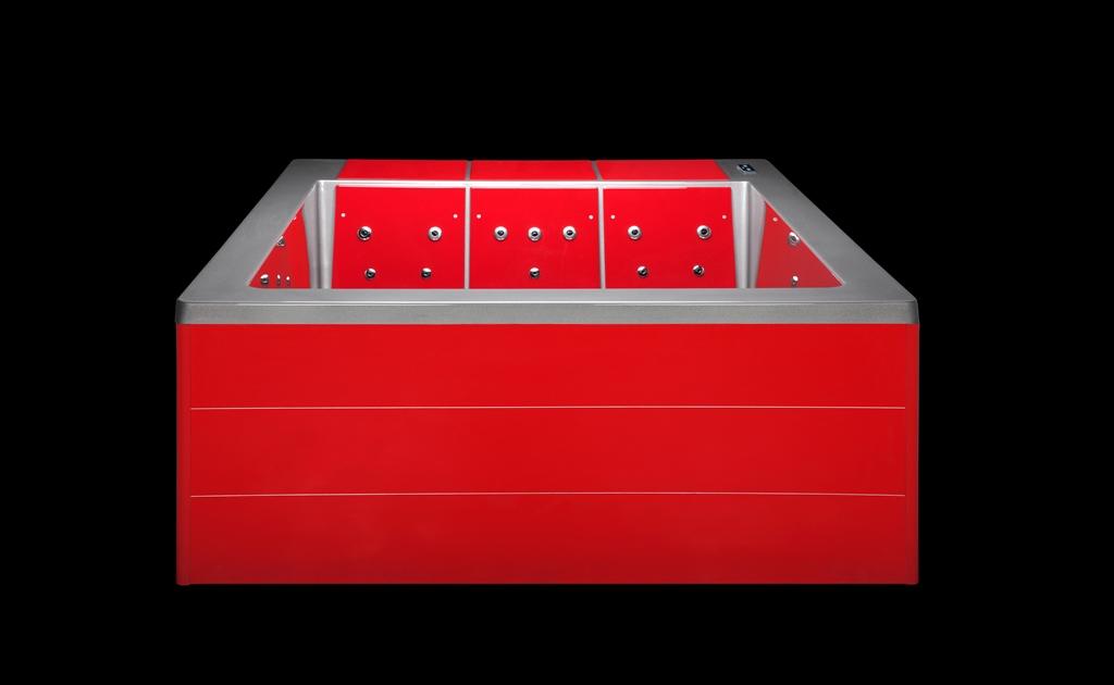 Whirlpool Lounge Concept III rot