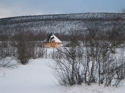 Wikinger Grill Kota 16,5 qm im Winter