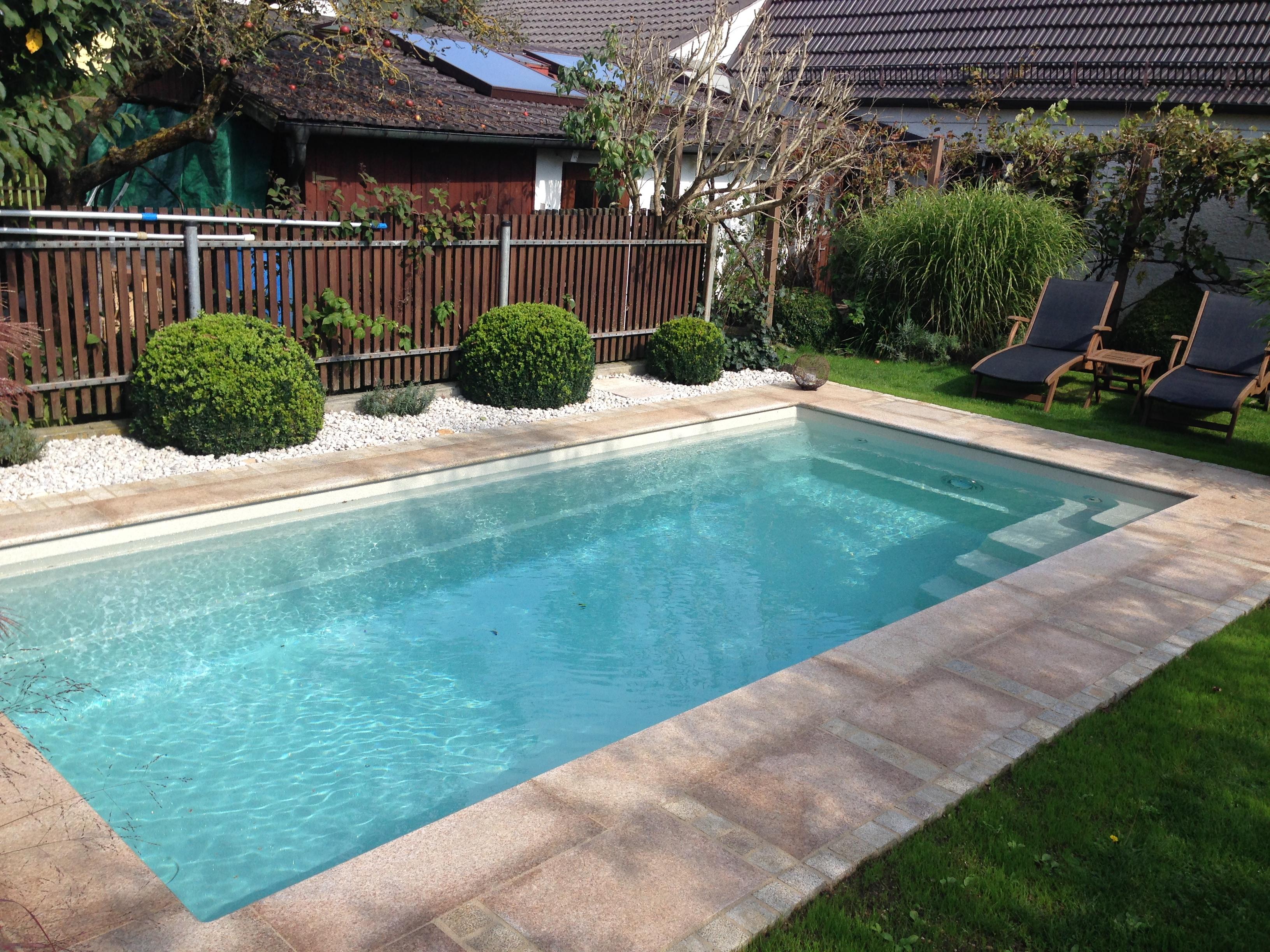 Schwimmbecken Bau Classic