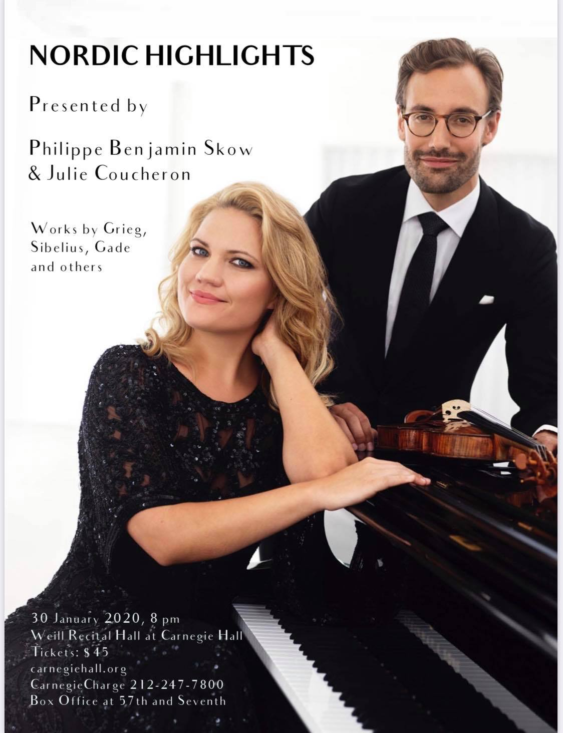 Debut at Carnegie Hall New York