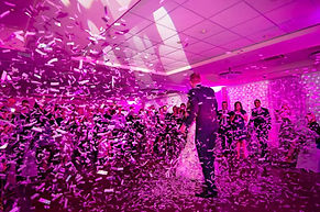 Confetti Explosion during First Dance