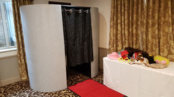 sparkly photo booth