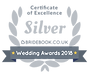 Award Winning Wedding DJ 2018, Silver