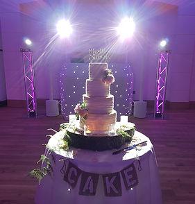 Wedding Cake at Pembroke Lodge