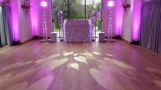 Millbridge Court's Best Wedding DJ Set Up