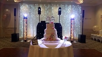 The Best Wedding DJ at Wotton House with Classic Package and Starlit Backdrop