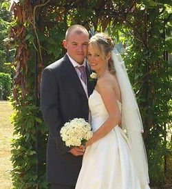 Wedding DJ Steve Telling married
