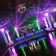 Large Classic Wedding DJ Package in Marquee at Richmond Golf Club