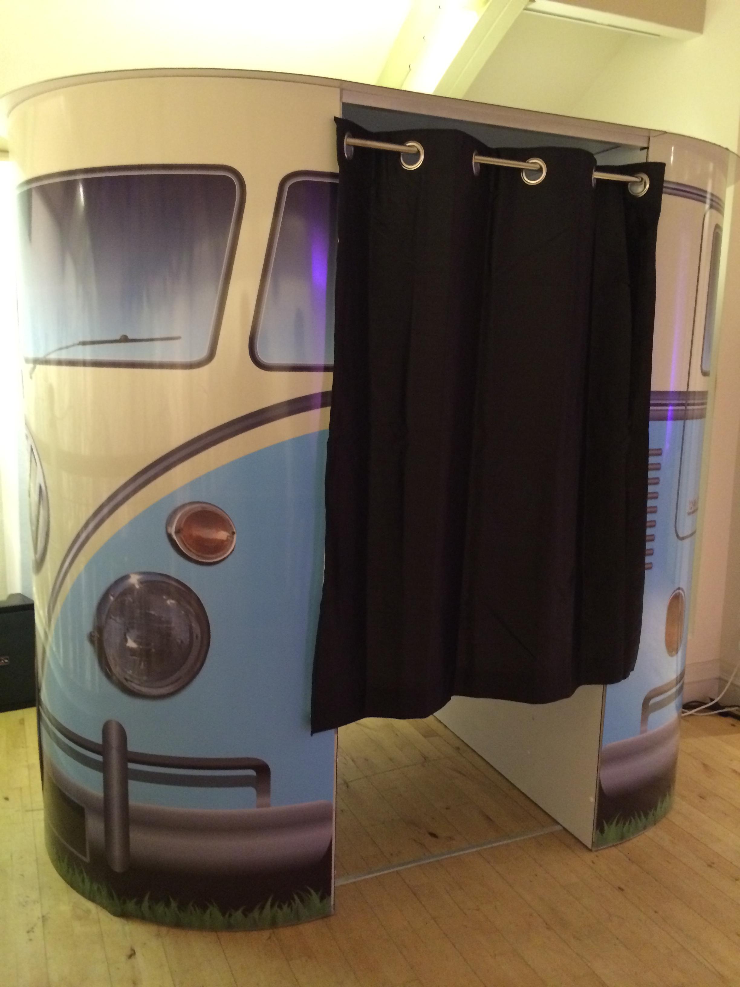 Stylish VW Camper photobooth
