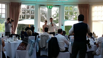 Tyrrells Wood Wedding Speeches
