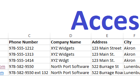 Access or Excel?