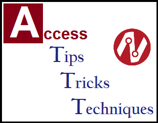 Protecting Data on an Access Form