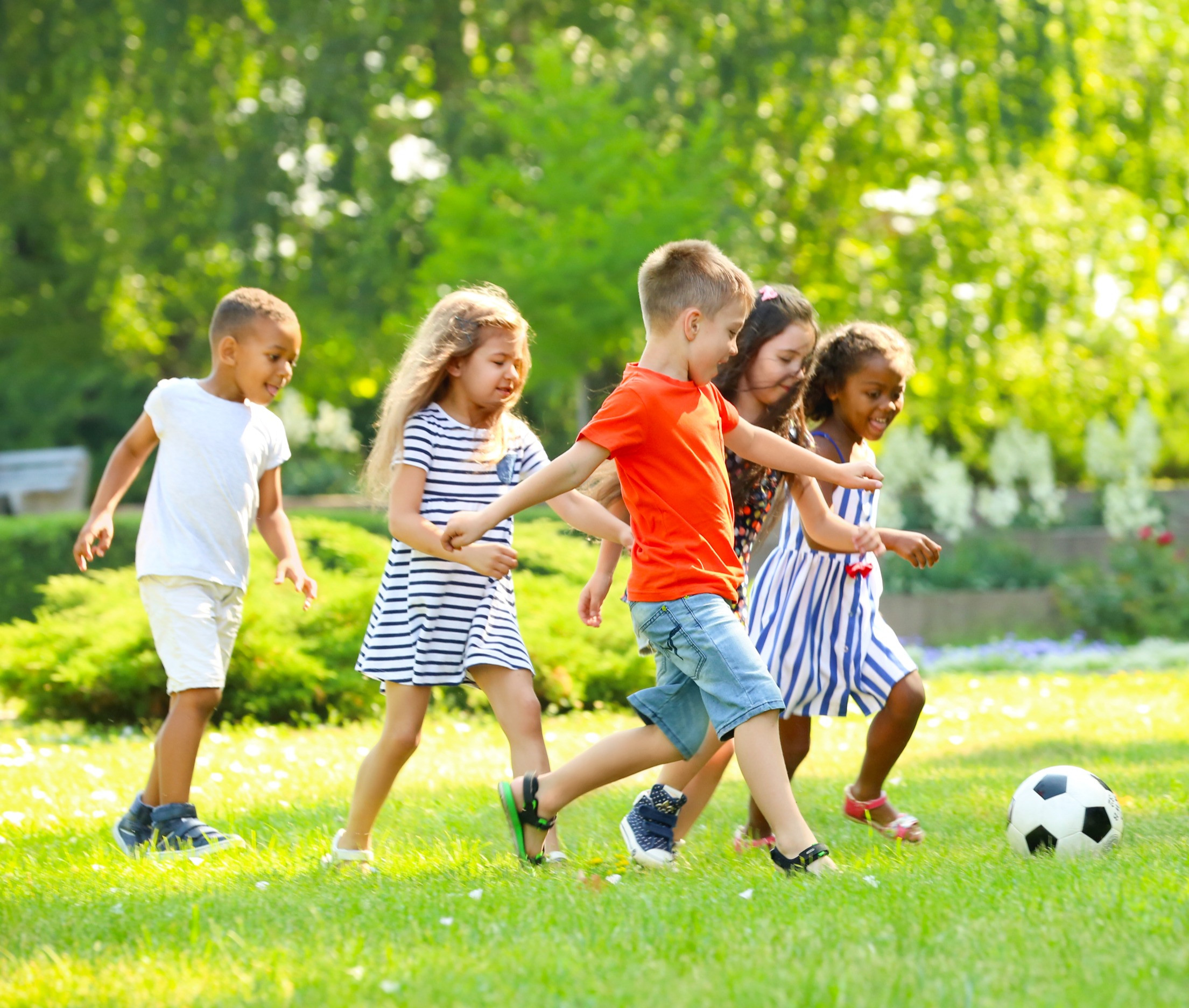 Soccer with Soma Kids
