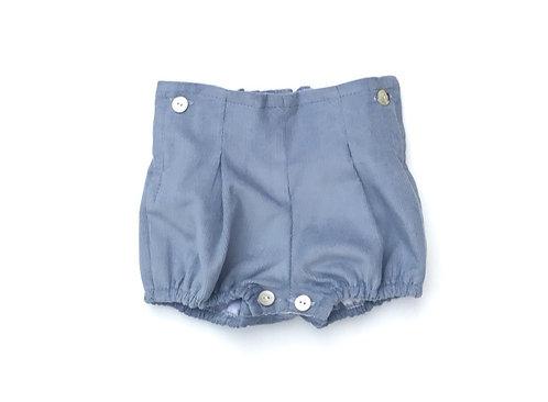 Blue nappy cover/ Tapa fraldas azul