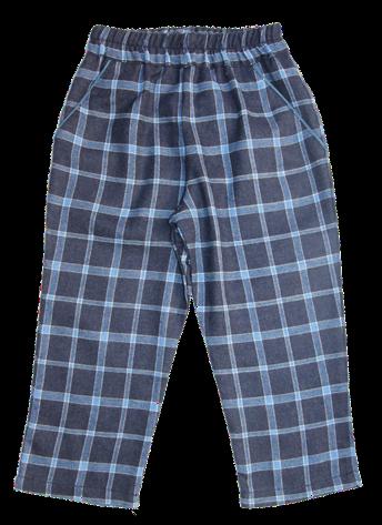 unisex blue trousers/ Calçãs azuis unisexo