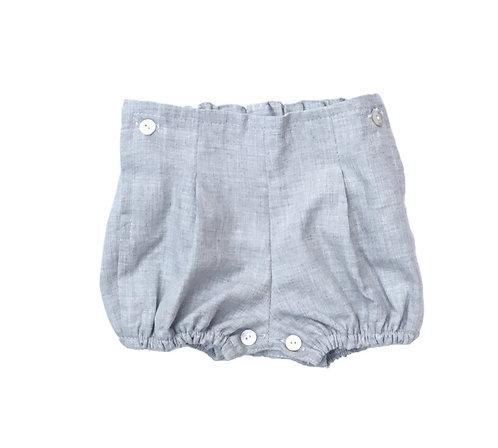 Grey nappy cover/ Tapa fraldas cinzento