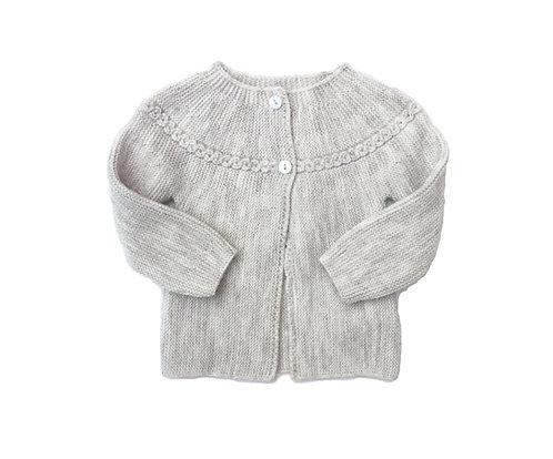 knitted cardigan with twist/ Casaco com torçido