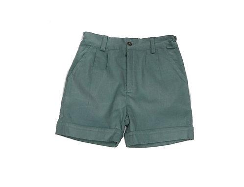 Green velvet shorts /  Calções veludo cotele verde