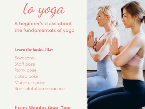Online Beginner Yoga classes UK starting Dec 2020