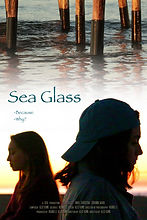 SEA GLASS poster - Pier - Smaller Title.