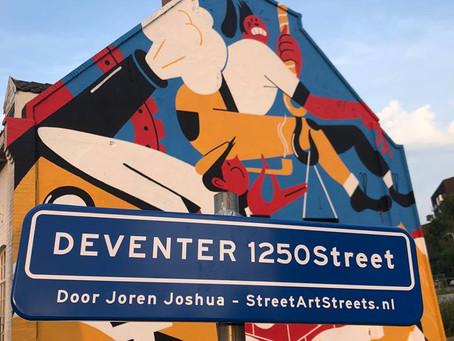 Deventer1250 Mural onthuld