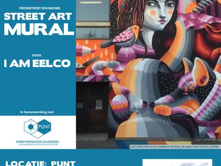 I AM EELCO maakt Mural op nieuw PUNT.