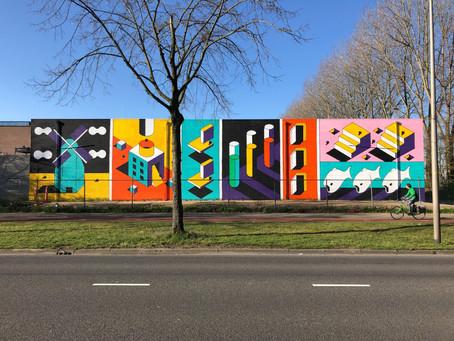 """Johan Moorman Street"" mural onthuld"