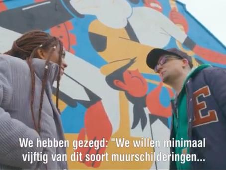 Street Art Streets bij 3 op Reis in Deventer