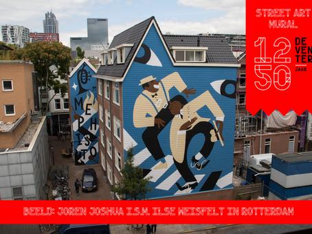 Deventer1250 Mural door Joren Joshua!