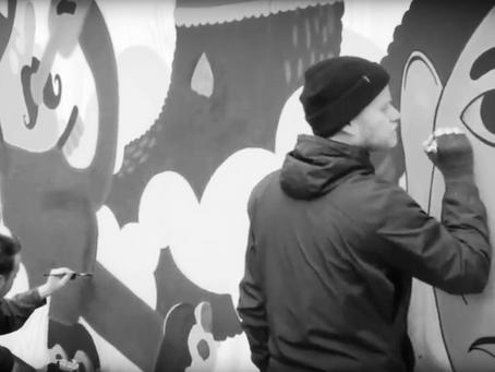 Street Art evenement in Deventer Binnenstad
