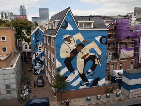 15 juni Onthulling Street Art ter ere van Deventer 1250