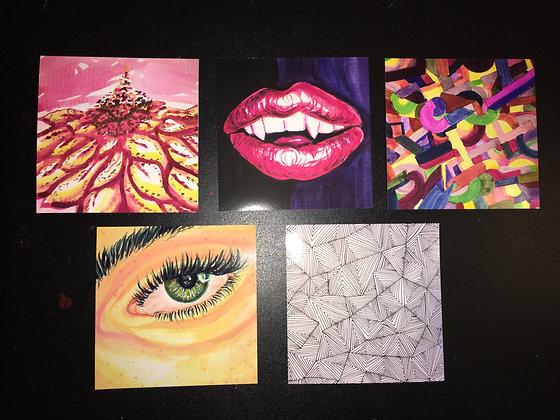 Watercolor Headshots