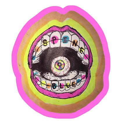 SpineBlue Logo Poster