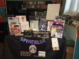 "SpineBlue's Table Set-Up at ""Soulful Expressions"""