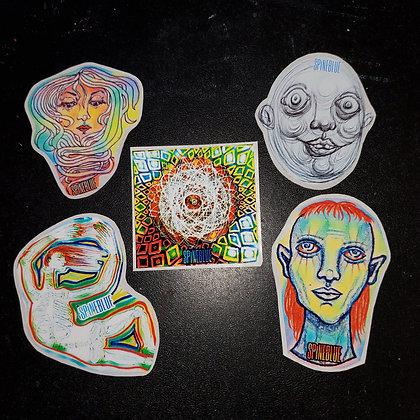 Celestial Sticker Pack 4